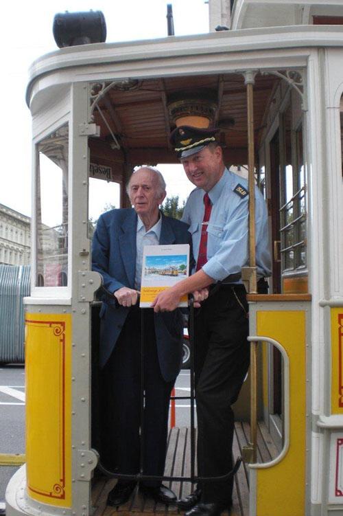 Nachruf auf Eisenbahn Pionier DI Gerhard Mayr
